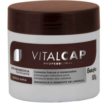 Máscara de Hidratação VitalCap SOS Mandioca 500g - Belofio