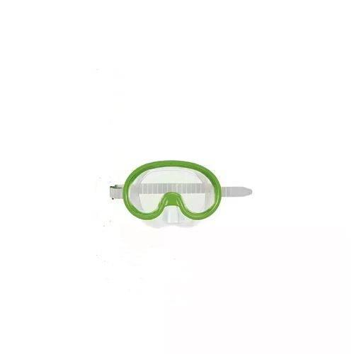 Mascara de Mergulho e Snorkel Infantil Verde