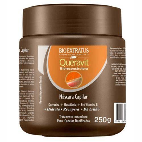 Mascara de Tratamento Bio Extratus Queravit - 250gr
