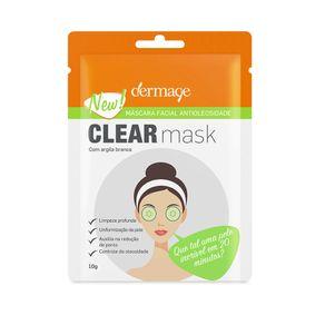 Máscara Facial Antioleosidade Clear Mask
