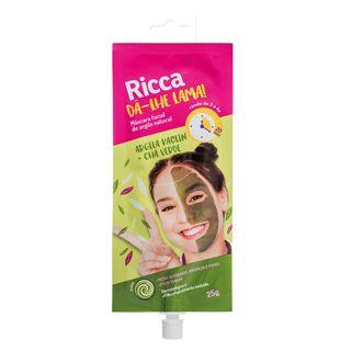 Máscara Facial de Argila Natural Ricca - Dá-lhe Lama 25g