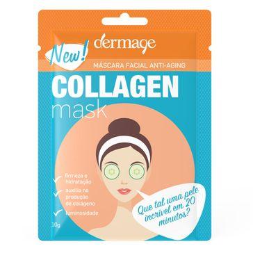 Máscara Facial de Colágeno Dermage Anti-idade Sachê 10g