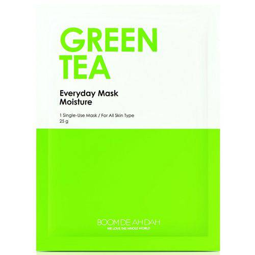 Máscara Facial Hidratante Everyday Mask Green Tea - Boom de Ah Dah