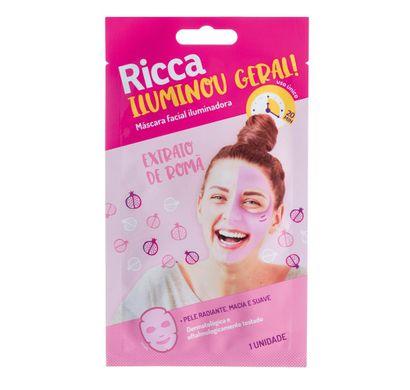 Máscara Facial Iluminou Geral! Extrato de Romã 1uni - Ricca