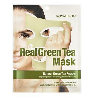 Máscara Facial Sisi Cosméticos - Real Green Tea 1 Un