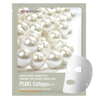 Máscara Facial Sisi Cosméticos -Wizyoung Pearl Collagen 1 Un