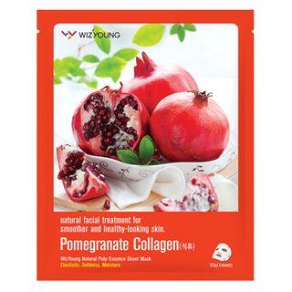 Máscara Facial Sisi Cosméticos -Wizyoung Pomegranate Collagen 1 Un