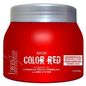 Máscara Forever Liss Professional Color Red Tonalizante 250g