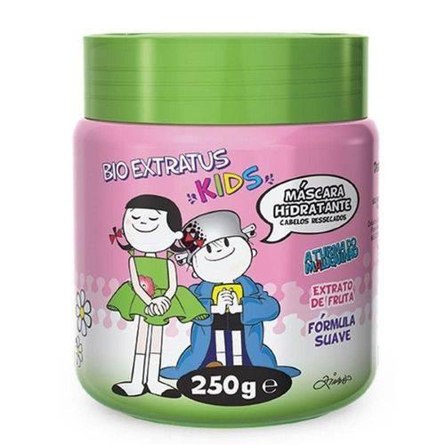 Máscara Hidratantes Cabelos Ressecados Bio Extratus Kids 250g