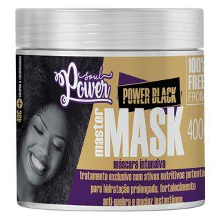 Máscara Intensiva Soul Power - Power Black Master 400g