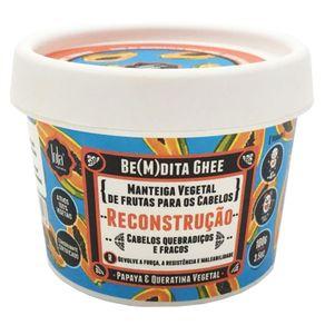 Máscara Lola Cosmetics Be(M)dita Ghee Papaya e Queratina Vegetal de Reconstrução 100g