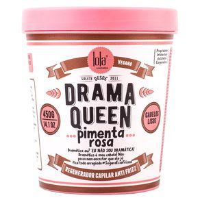 Máscara Lola Cosmetics Drama Queen Pimenta Rosa de Nutrição 450g