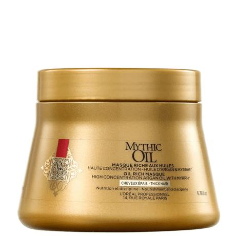 Máscara L'Oréal Professionnel Mythic Oil Masque 200gr