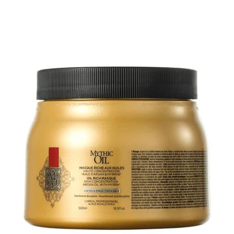 Máscara L'Oréal Professionnel Mythic Oil Masque 500gr