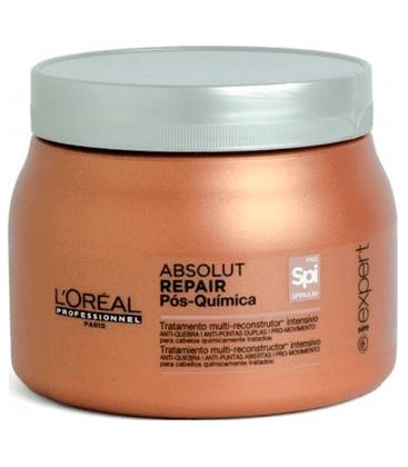 Mascara Loreal Profissional Absolut Repair Pos Quimica 500ml
