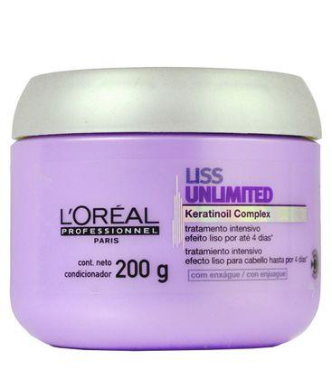 Mascara Loreal Profissional Liss Unlimited 200ml