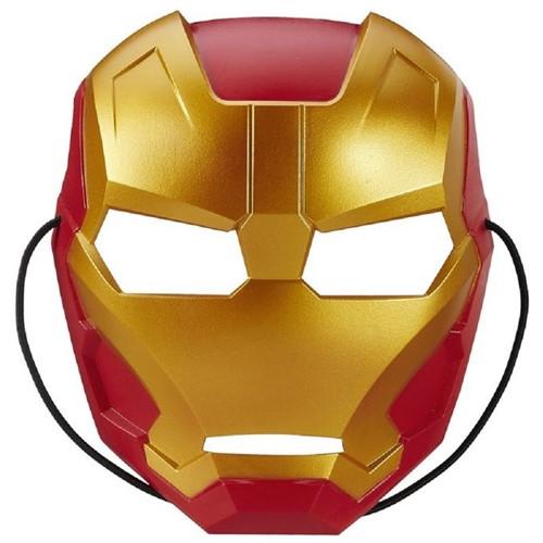 Máscara Marvel Clássica Infantil - Homem de Ferro B1801 - HASBRO