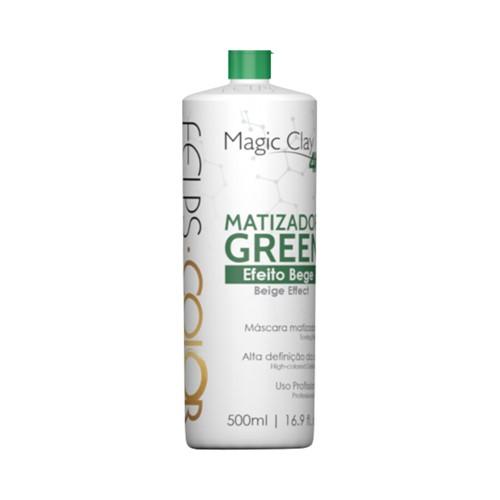 Máscara Matizadora Felps Green Efeito Bege 500ml