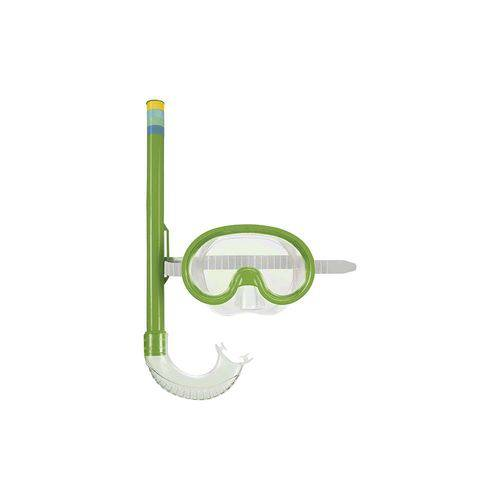 Máscara Mergulho e Snorkel Infantil Cores Sortidas Mor