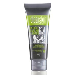 Máscara Negra Facial com Minerais Clearskin 60g
