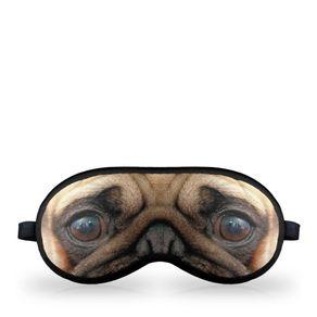 Máscara para Dormir Cachorro Pug
