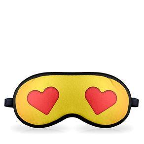 Mascara para Dormir Emoji Amor Love Coração Emoticon