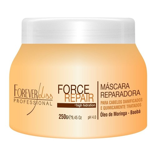 Máscara Reparadora Force Repair Forever Liss 250gr