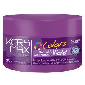 Máscara Skafe Keramax Colors Tonalizante Violet 350g