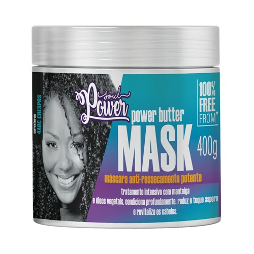 Máscara Soul Power Anti Ressecamento 400g
