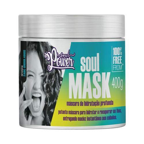 Máscara Soul Power Hidratação Profunda 400g