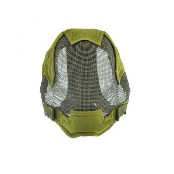 Mascara TMC Malha Metalica Full Face Verde Oliva
