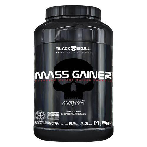 Mass Gainer - 1500g - Black Skull / Caveira Preta - Sabor Chocolate