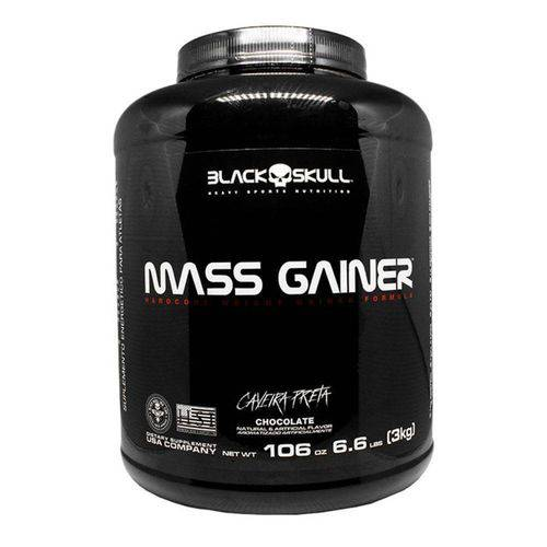 Mass Gainer (3kg) Banana Black Skull