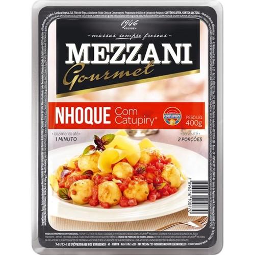 Mass Nhoque Mezzani 400g Rech Req