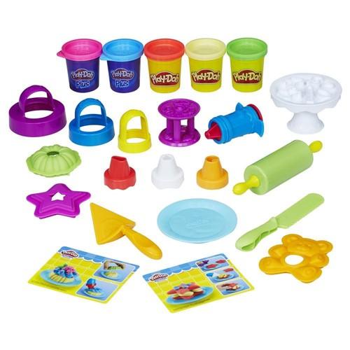Massa de Modelar - Play-Doh - Conjunto Bolos Divertidos HASBRO