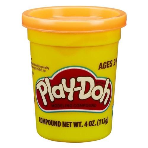 Massa de Modelar Play-Doh Pote Individual - Laranja HASBRO