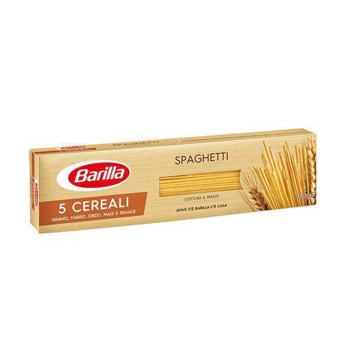 Massa Grano Duro Spaghetti 5 Cereali Barilla 400 G
