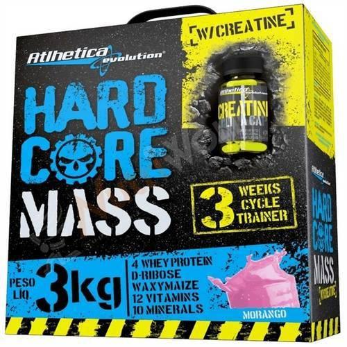 Massa Hard Core com Creatina - Atlhetica - 3kg - B