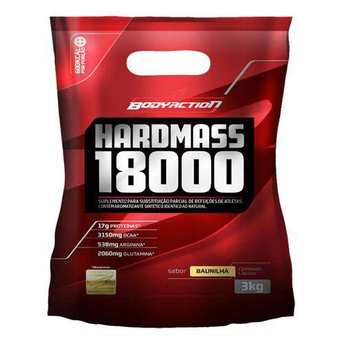 Massa Hard Mass - Body Action 3kg - Baunilha