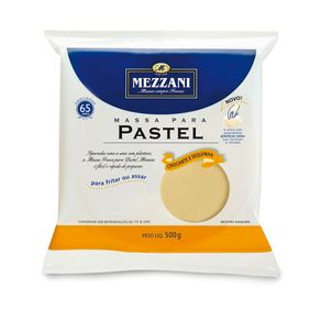 Massa para Pastel Cumbuca Mezzani 500g