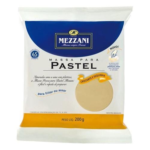 Massa Pastel Mezzani 200g Redonda