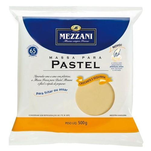 Massa Pastel Mezzani 500g Discao