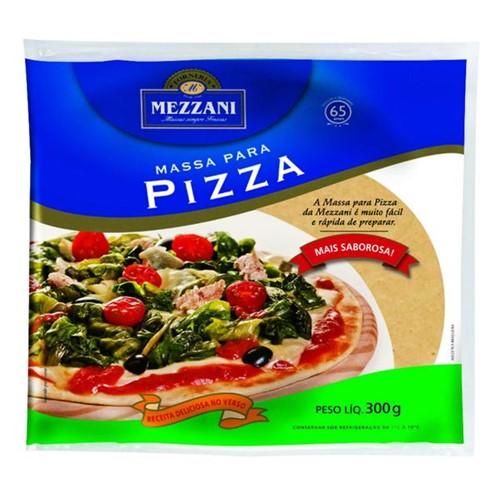 Massa Pizza Mezzani 300g 2x1 F30 Sem Bandeja