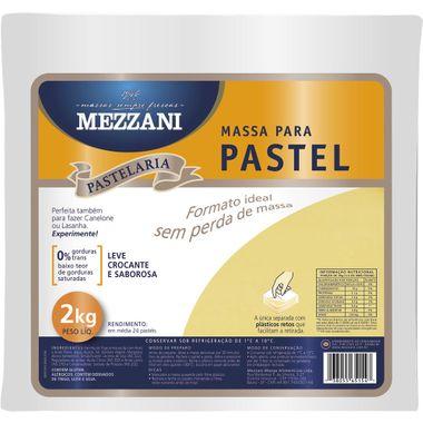 Massa Quadrada para Pastel Mezzani 2kg