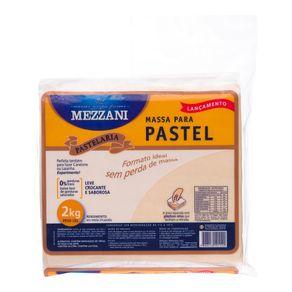 Massa Quadradra para Pastel Mezzani 2Kg