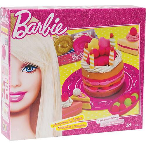 Massinha Aniversário da Barbie - Fun