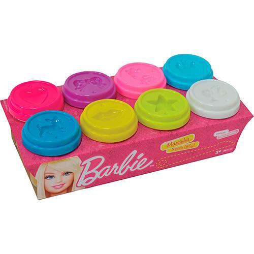 Massinha Barbie 8 Potes 50g - Fun