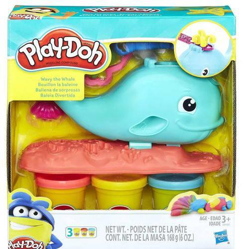Massinha Play Doh Baleia Divertida - Hasbro E0100