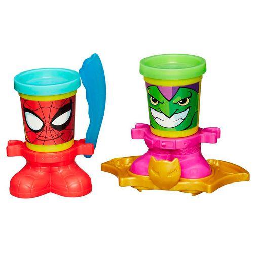 Massinha Play-Doh - Homem Aranha e Duende Verde - Hasbro