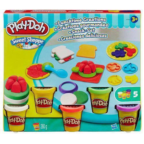 Massinha Play-doh Hora do Lanche Hasbro A7659